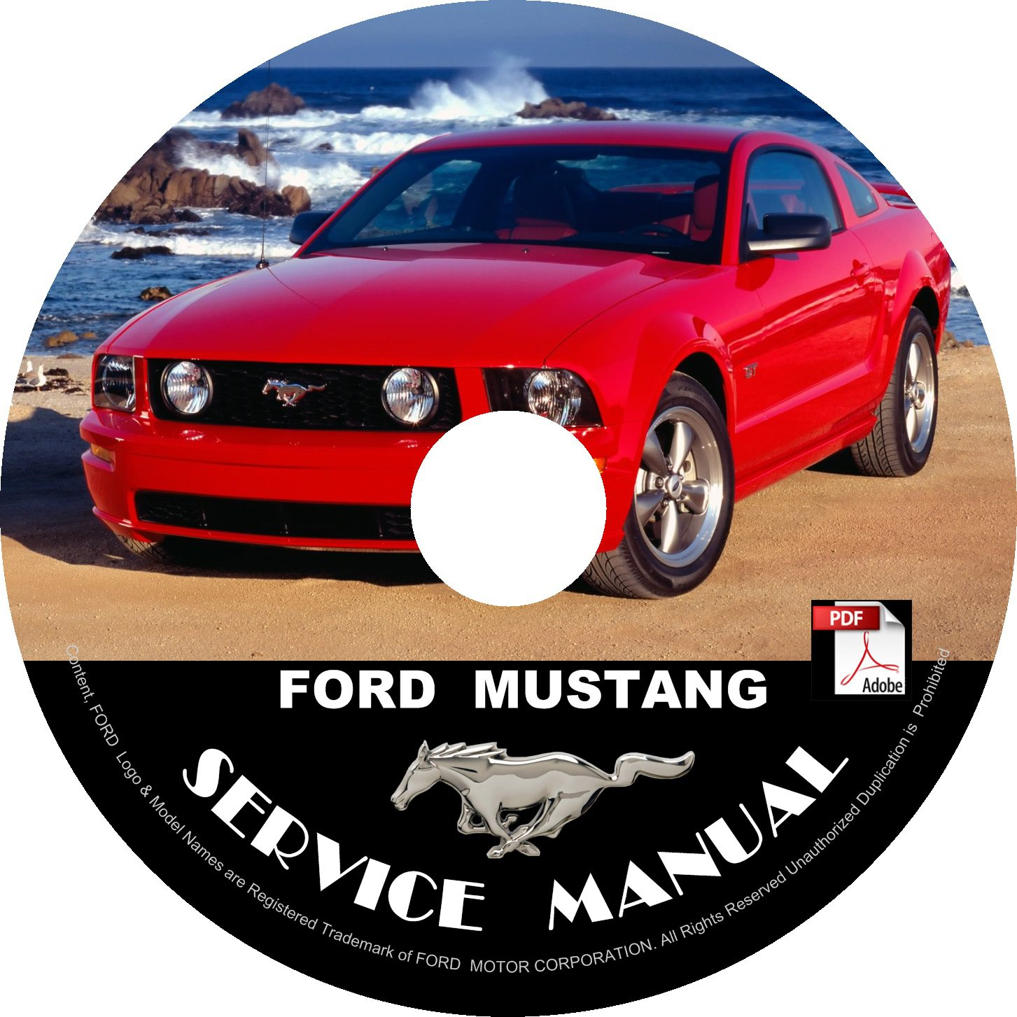 2006 ford mustang service manual download