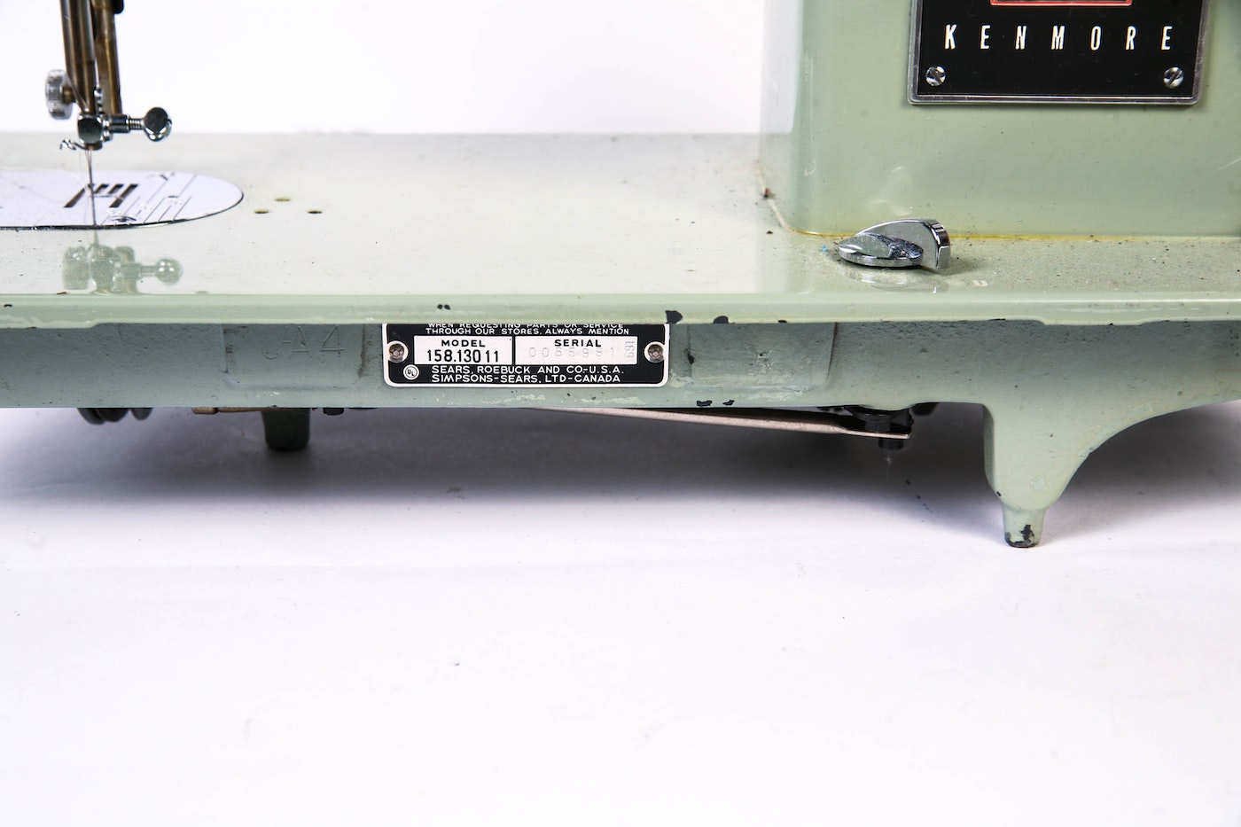 manual kenmore solid state sewing machine model 158