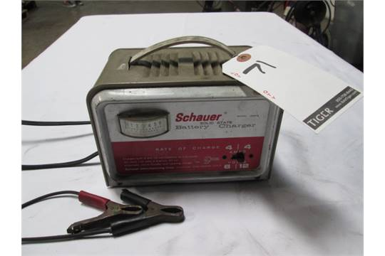 schauer battery charger model a6612 manual